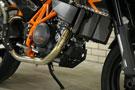 KTM 690 SM Radiator & exhaust