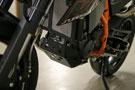 KTM 690 SM Radiator & bashplate