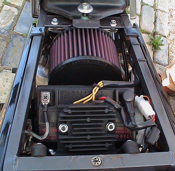 KTM 640 Duke K&N