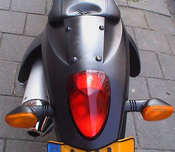 KTM 660 SMC Black Back