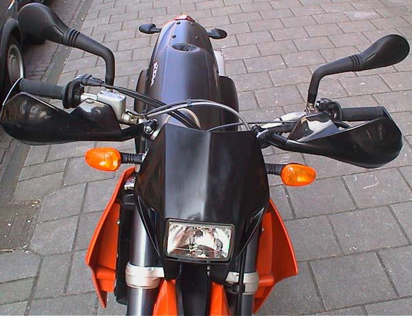 KTM 660 SMC Duke mirrors
