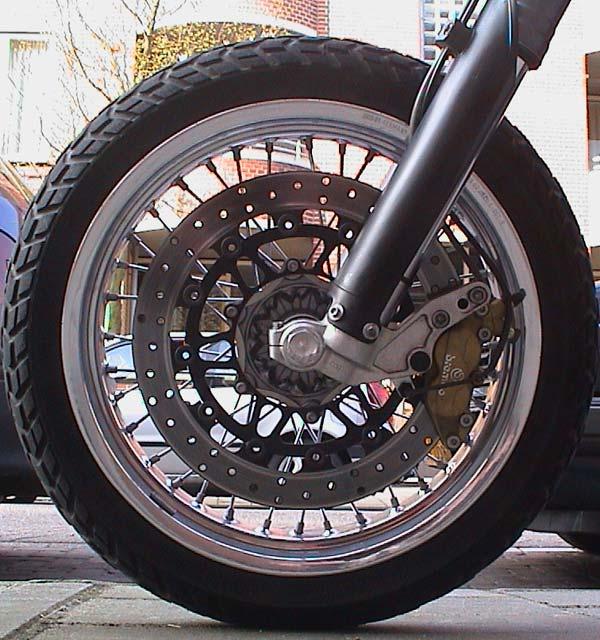 KTM 660 SMC Spiegler disc