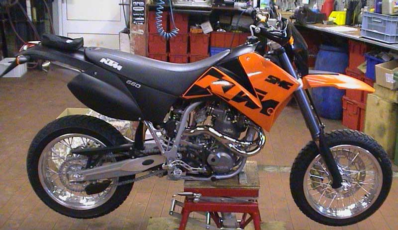KTM 660 SMC ready